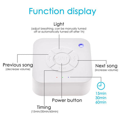 White Noise Sound Machine For Sleeping & Relaxation - TadaBaby