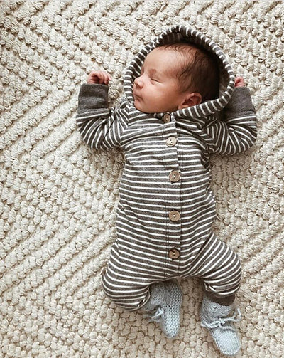Baby Hooded Romper