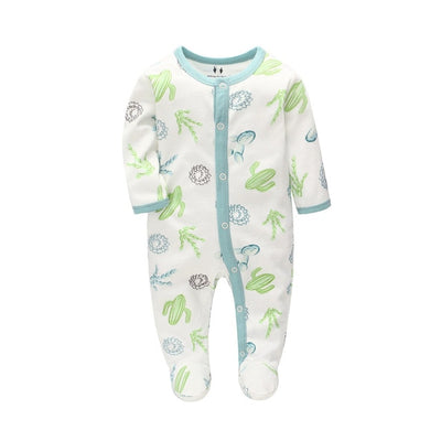 Baby  Spring Rompers Long Sleeve Jumpsuit
