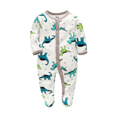 Baby  Spring Rompers Long Sleeve Jumpsuit - TadaBaby