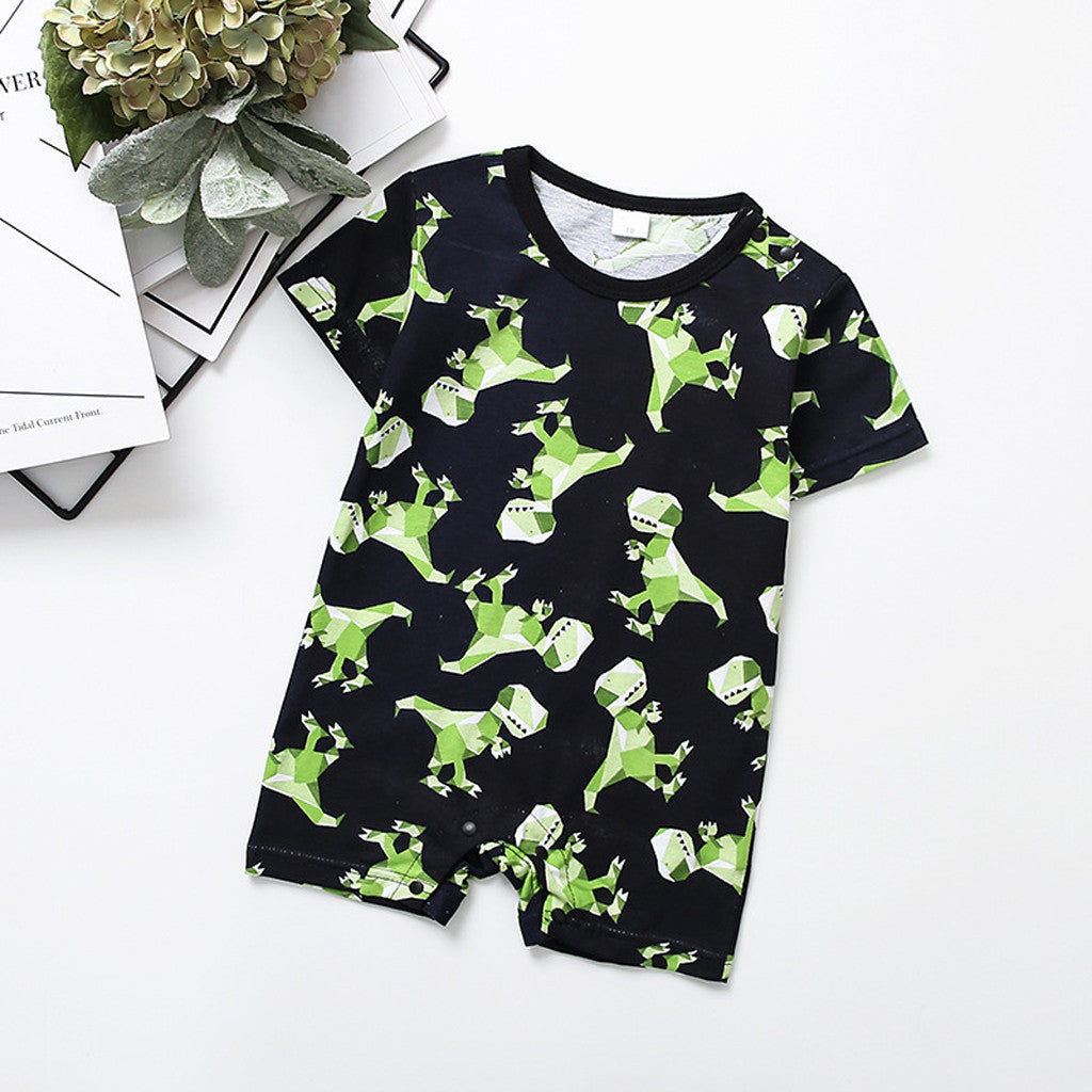 Baby boy cartoons romper - TadaBaby