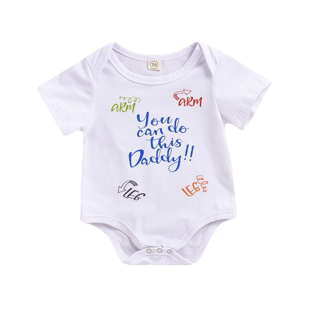 You Can Do This Daddy Baby Jumpsuit - TadaBaby
