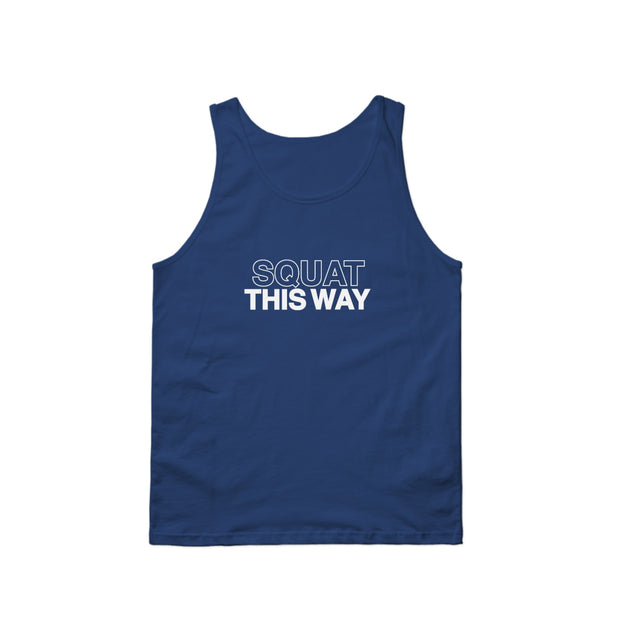 SWEATGOODS Squat This Way Tank - Men's