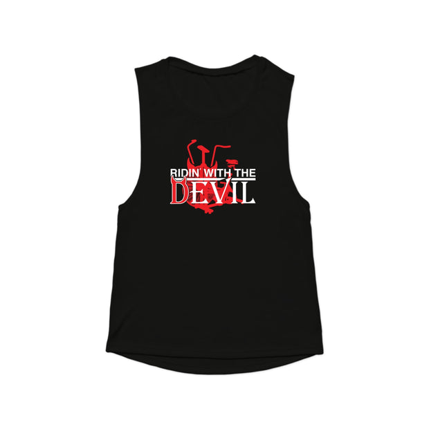 SWEATGOODS Ridin With The Devil Muscle Tank - Women's
