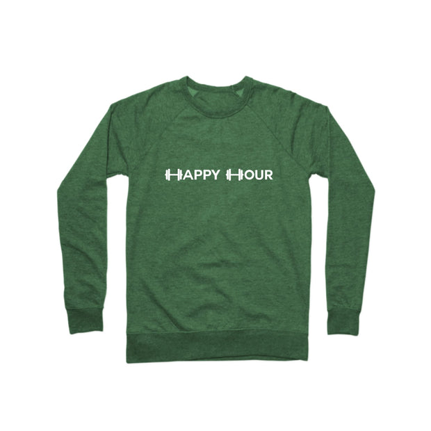 SWEATGOODS Happy Hour French Terry Crew - Unisex