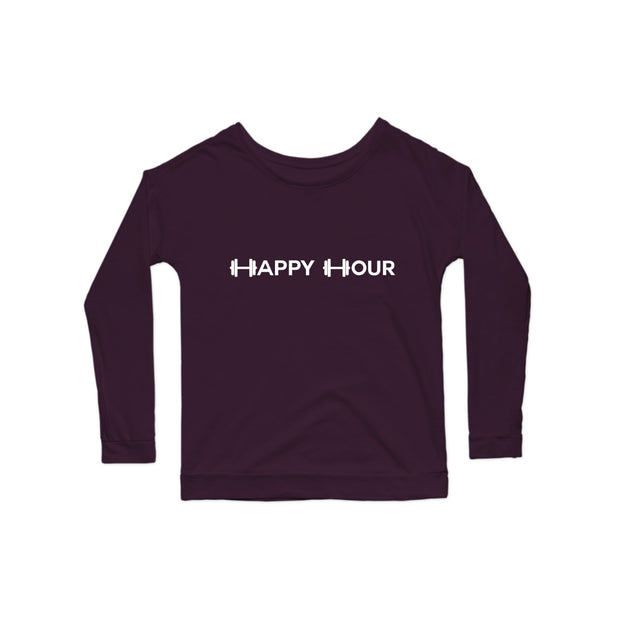 SWEATGOODS Happy Hour Premium Scoop LS - Women's