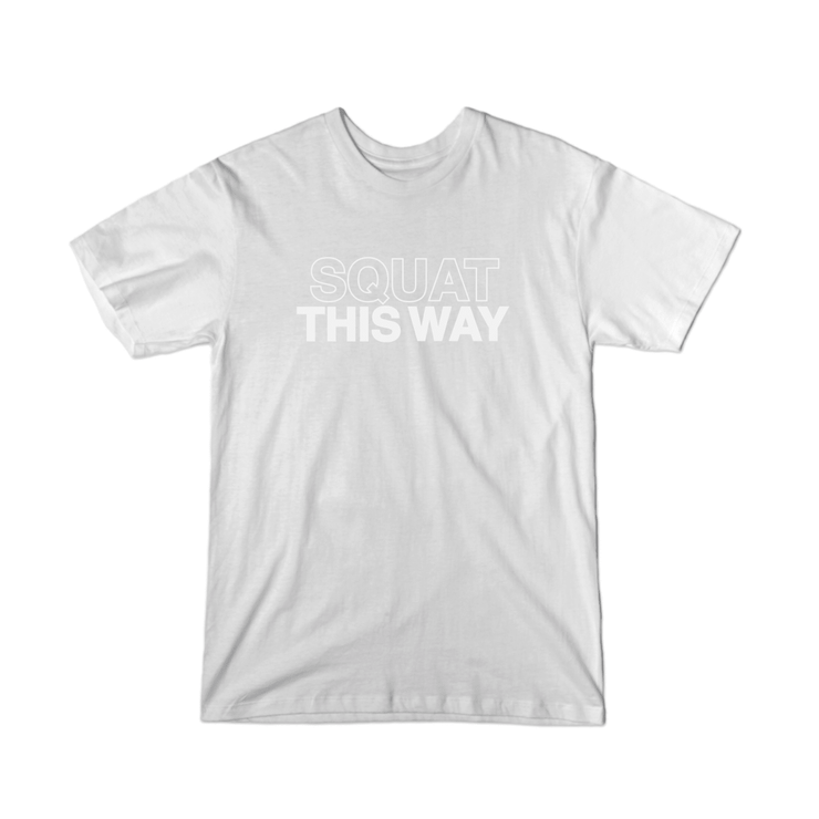 SWEATGOODS Squat This Way Tee - Youth