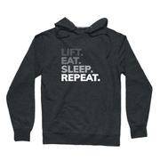 SWEATGOODS Lift Eat Sleep Repeat French Terry Hoodie - Unisex