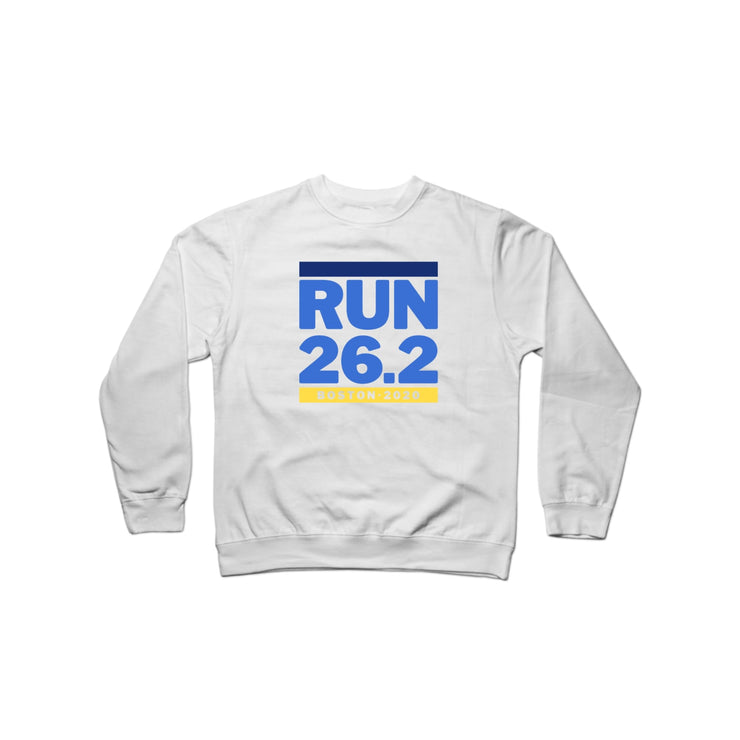 SWEATGOODS Run Boston 26.2 Heavyweight Crew - Unisex