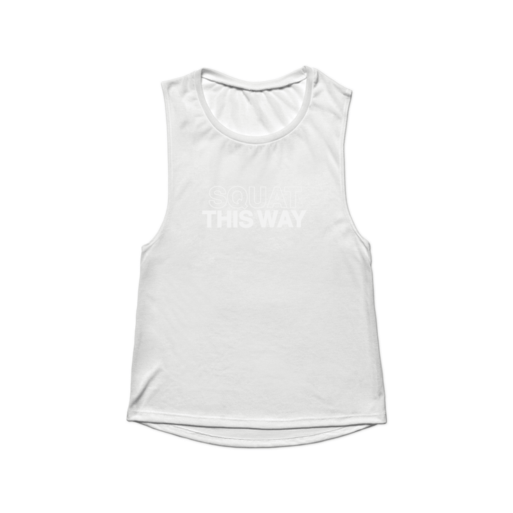 SWEATGOODS Squat This Way Muscle Tank - Women's