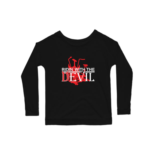 SWEATGOODS Ridin With The Devil Premium Scoop LS - Women's