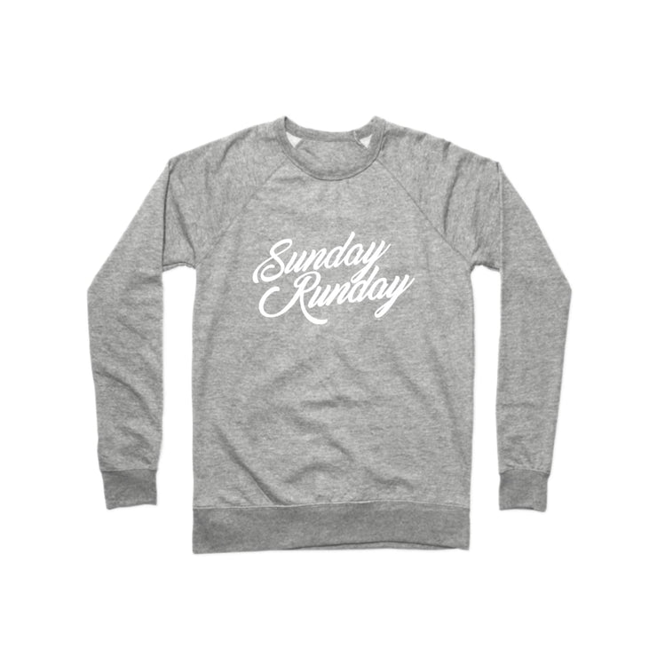 SWEATGOODS Sunday Runday French Terry Crew - Unisex