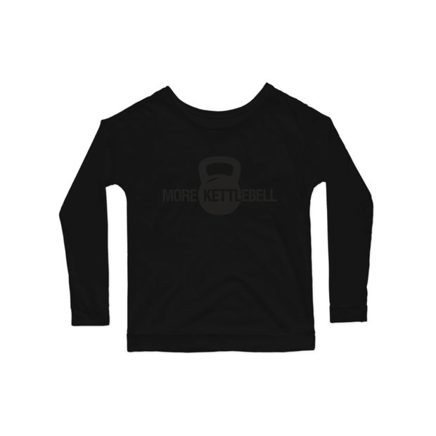 SWEATGOODS More Kettlebell Long Sleeve Tee - Women's