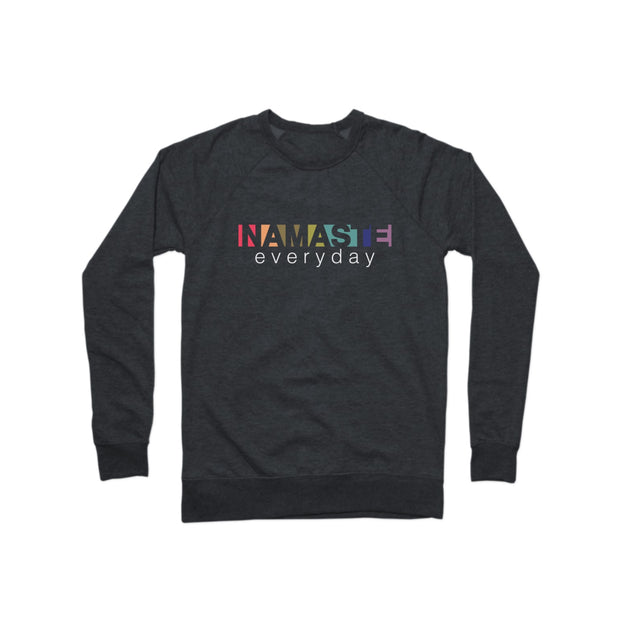 SWEATGOODS Namaste Everyday French Terry Crew - Unisex