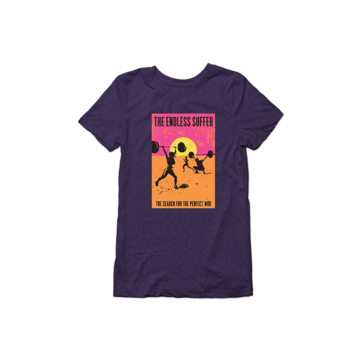 SWEATGOODS The Endless Suffer Triblend Tee - Women's