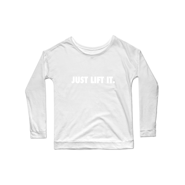 SWEATGOODS Just Lift It Premium Scoop LS - Women's