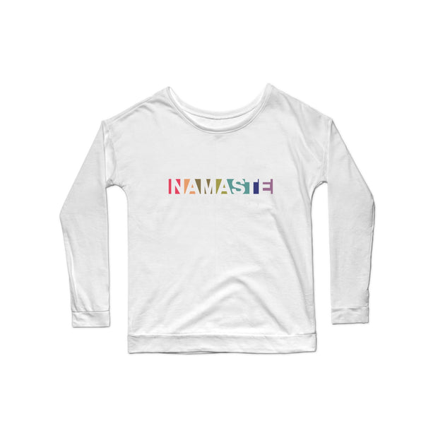 SWEATGOODS Namaste Everyday Premium Scoop LS - Women's
