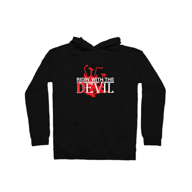 SWEATGOODS Ridin With The Devil Hoodie Heavyweight Hoodie - Unisex