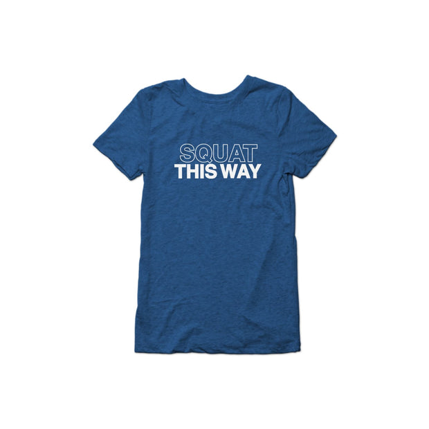 SWEATGOODS Squat This Way Triblend Tee - Women's