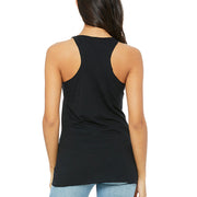 SWEATGOODS Ridin With The Devil Triblend Racerback Tank - Women's