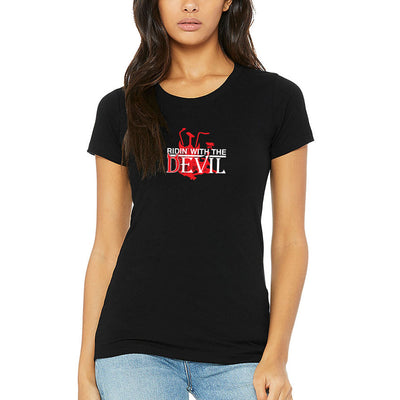 SWEATGOODS Ridin With The Devil Triblend Tee - Women's