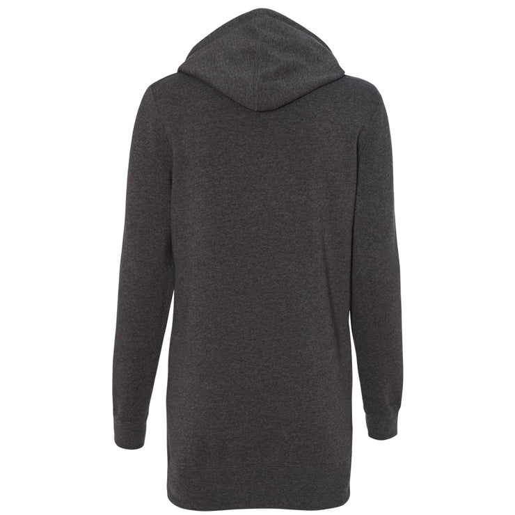 SWEATGOODS Yoga Mama Hooded Sweatshirt Dress - Women's