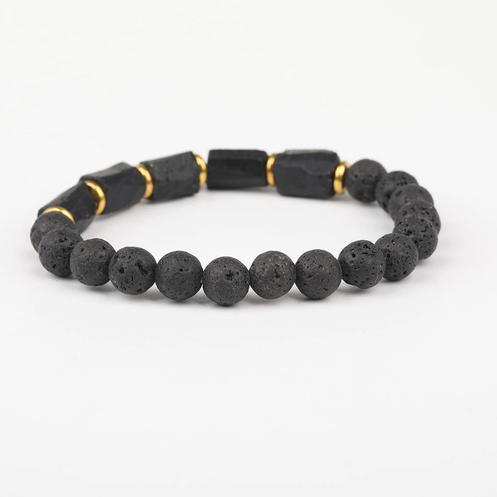 Black Tourmaline Bracelet For Protection