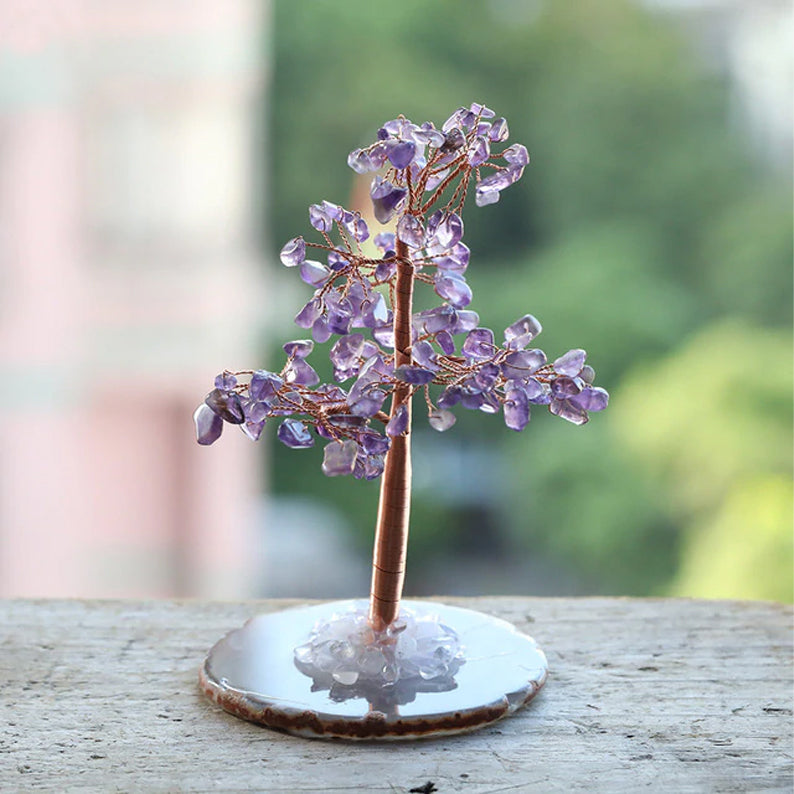 Crystal Tree for Intuition - Amethyst