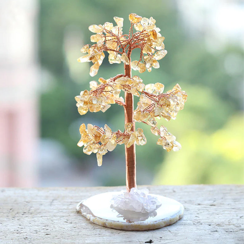 Crystal Tree for Abundance - Citrine