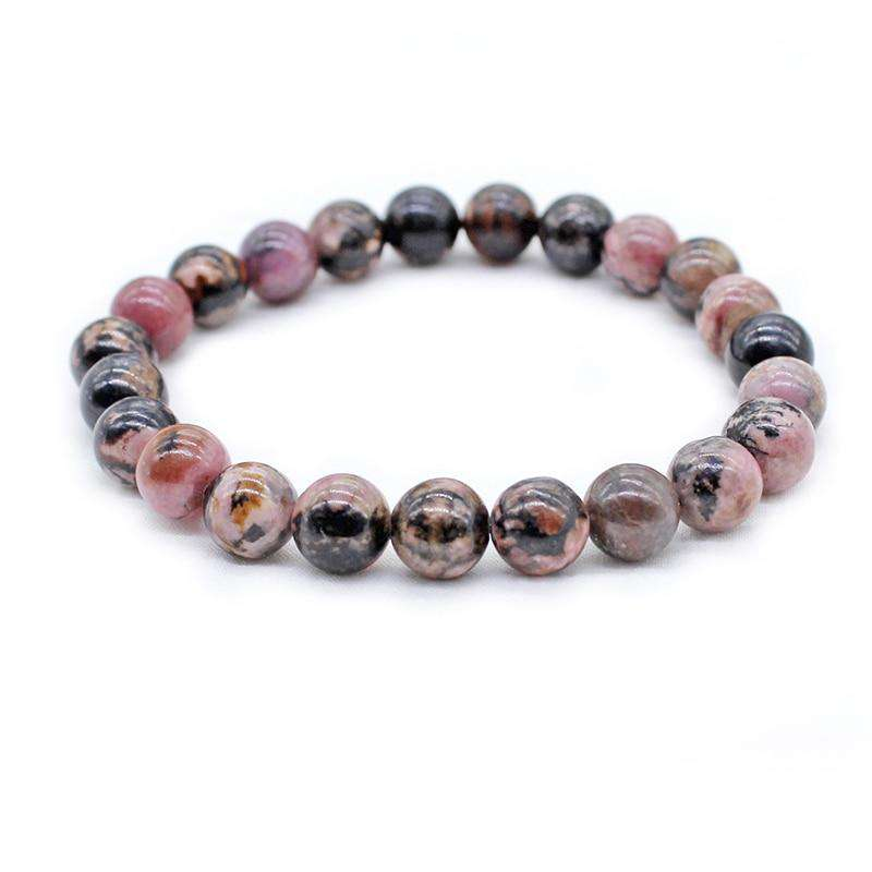 Bead Bracelet for Compassion - Rhodochrosite