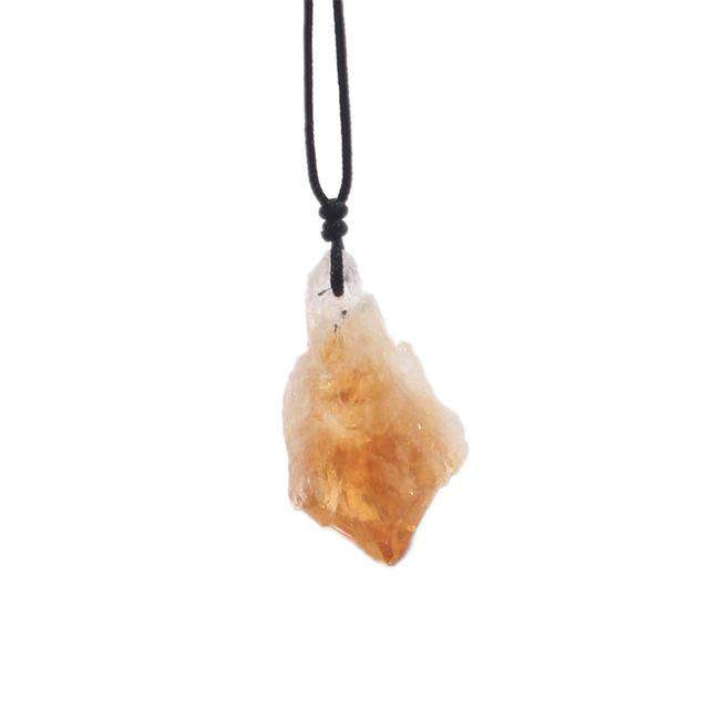 Necklace for High Vibrations - Citrine