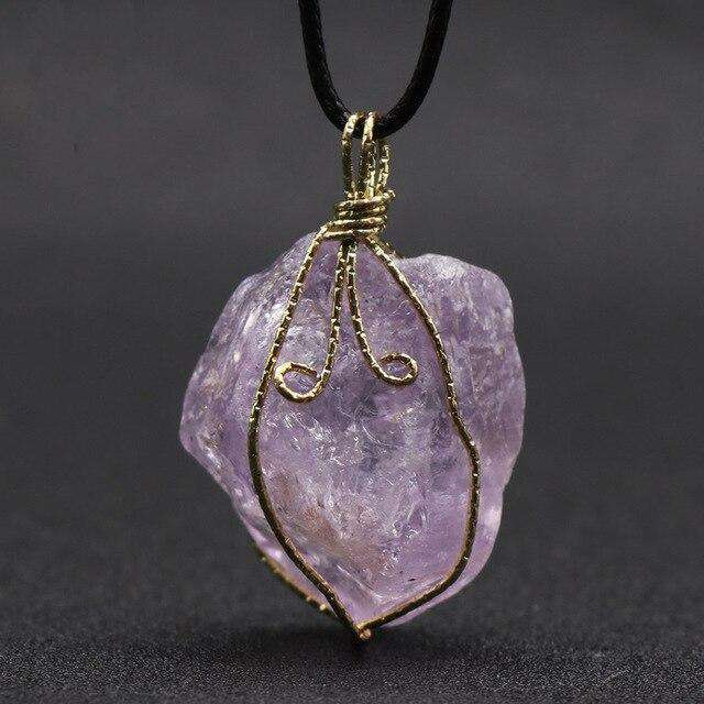 Necklace for Intuition - Amethyst