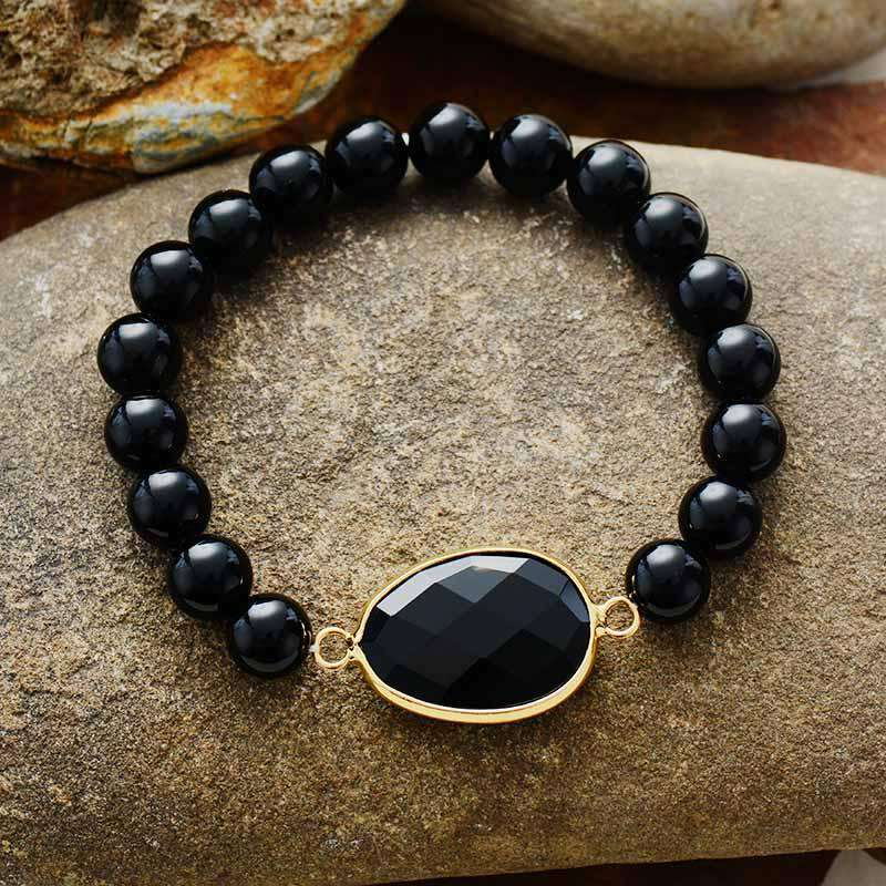 Bead Bracelet for Decision-Making - Onyx