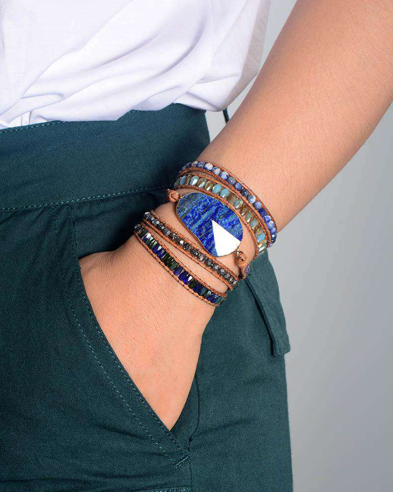 Bracelet for Wise Decisions - Lapis Lazuli