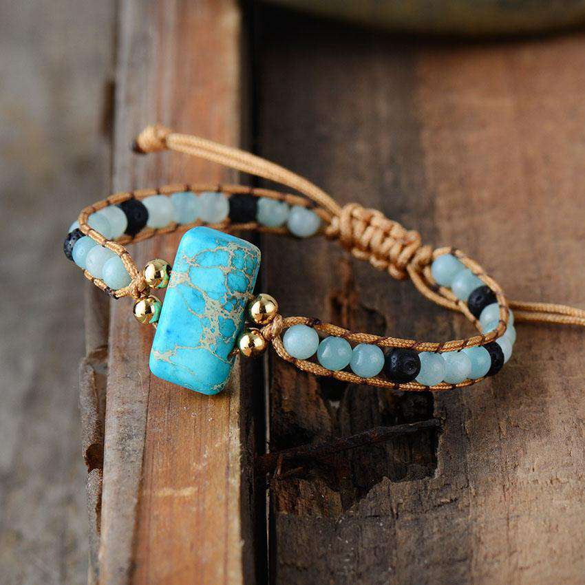 Bracelet for Protection - Turquoise
