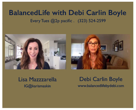 BALANCEDLIFE WITH DEBI CARLIN BOYLE