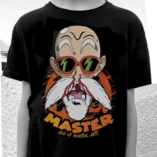 Camiseta de Master Roshi de Dragon Ball.