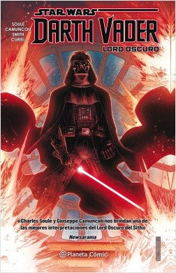 Tomo del cómic Star Wars Darth Vader Lord Oscuro (tomo)