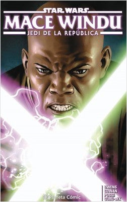 Tomo del cómic Star Wars Mace Windu (tomo)