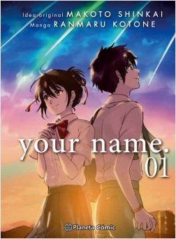 Tomos del manga Your name