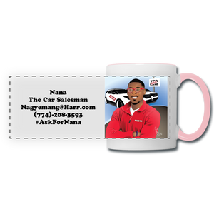 Nana The Car Salesman Mug - white/pink