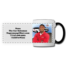 Load image into Gallery viewer, Nana The Car Salesman Mug - white/black