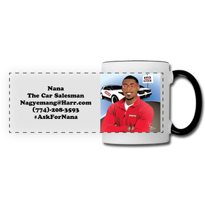 Nana The Car Salesman Mug - white/black