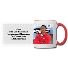Load image into Gallery viewer, Nana The Car Salesman Mug - white/red