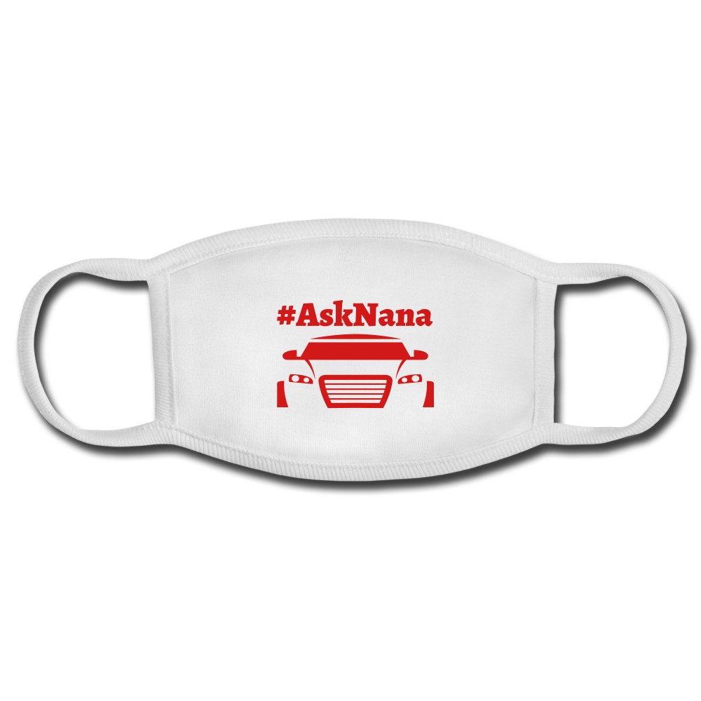 Ask Nana custom face mask - white/white