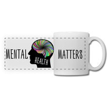 Load image into Gallery viewer, Mental Health Matters Mug - white