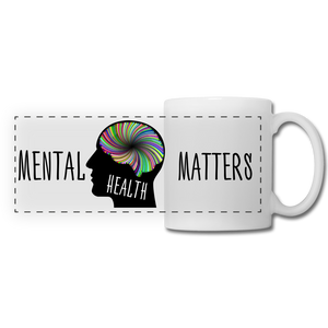 Mental Health Matters Mug - white