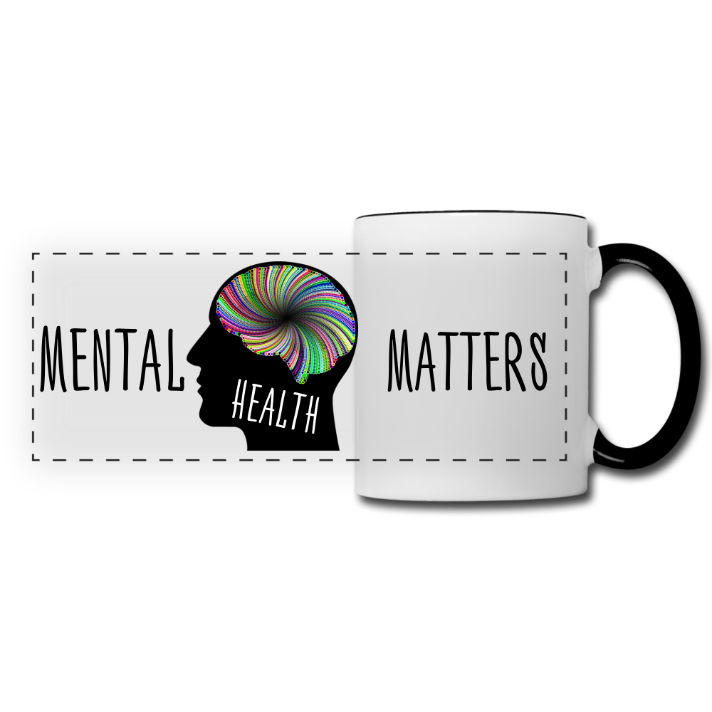 Mental Health Matters Mug - white/black
