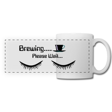 Load image into Gallery viewer, Brewing please wait Mug - white