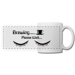 Brewing please wait Mug - white